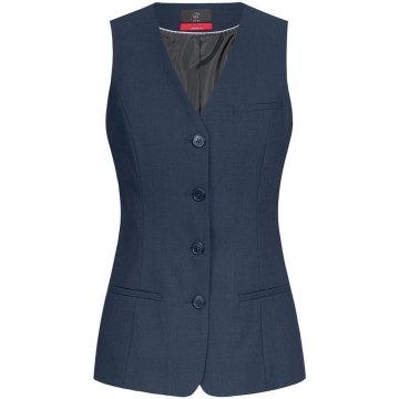Greiff Corporate Wear Premium Damen Weste Comfort Fit Marine Modell 1244