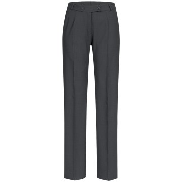 Greiff Corporate Wear Casual Damen Hose Regular Fit Grau Modellnummer 1372
