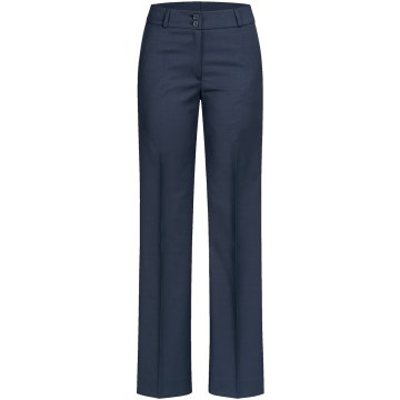 56715c4ebde986 Greiff Corporate Wear Modern with 37.5 Damen Hose Regular Fit Dunkelblau  Modell 1357 ...