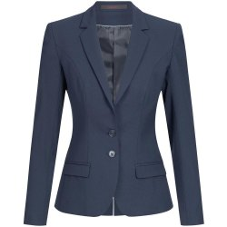 Greiff Corporate Wear Premium Damen Blazer Slim Fit Blau...