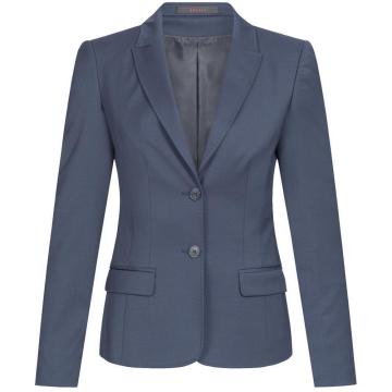 a78c1f7f2d920e Greiff Corporate Wear Modern with 37.5 Damen Blazer Regular Fit Dunkelblau  Modell 1424
