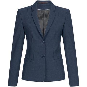 Greiff Corporate Wear Premium Damen Blazer Regular Fit Marine Modell 1446