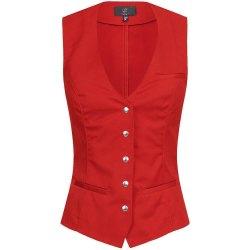 Greiff Gastro Moda Service Damen Weste Rot Modell 1712