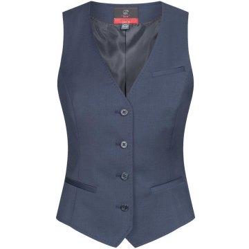 Greiff Corporate Wear Modern with 37.5 Damen Weste Regular Fit Dunkelblau Modell 1714