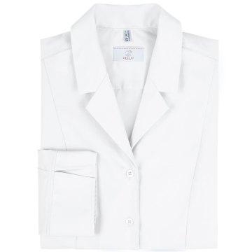 Greiff Corporate Wear Basic Damen Bluse 3//4-Arm Regular Fit Weiß Modell 6506