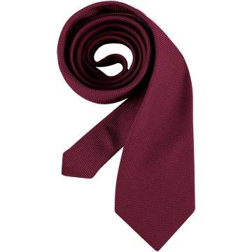 Greiff Corporate Wear Herren Krawatte Bordeaux Modell 6900