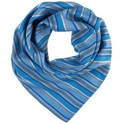 Greiff Corporate Wear Damen Tuch Blau/Grau gestreift...