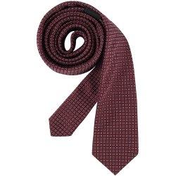 Greiff Corporate Wear Herren Krawatte Slimline Bordeaux...