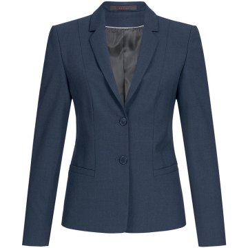 Größe 40 Greiff Corporate Wear Premium Damen Blazer Regular Fit Marine Modell 1446