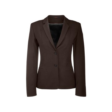 Größe 88 Greiff Corporate Wear Premium Damen Blazer Regular Fit Braun Modell 1446