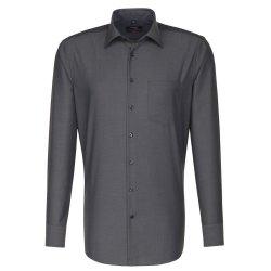 Seidensticker Schwarze Rose Hemd Modern Fit Grau...