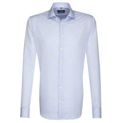Seidensticker Schwarze Rose Hemd Tailored Fit Hellblau...