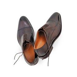 Prime Shoes Bergamo 3 Dunkelbraun Calf Espresso...