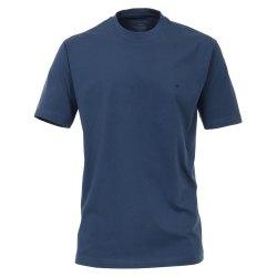 Casamoda T-Shirt Dunkelblau Kurzarm Normal Geschnitten...