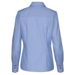 Seidensticker Schwarze Rose Bluse Regular Fit Blau...