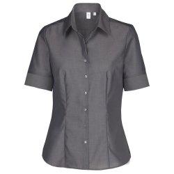 Seidensticker Schwarze Rose Bluse Regular Fit Grau...
