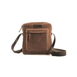 HAROLD´s Antic Bully Crossbag Tasche Natur Braun...