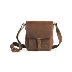 HAROLD´s Antic Brass Heritage Crossbag Tasche Natur...