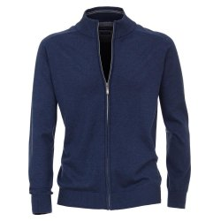 Casamoda Sport Strickjacke Cardigan Blau Langarm Normal...