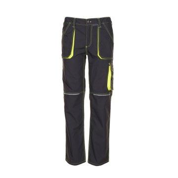 Planam Basalt Herren Neon Bundhose anthrazit gelb Modell 6220