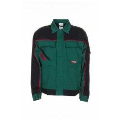 Planam Highline Herren Bundjacke grün schwarz rot Modell 2315