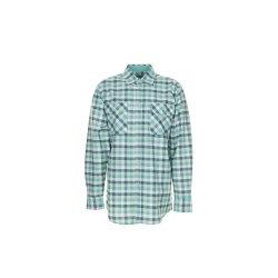 Planam Hemden Herren Countryhemd langarm grün...