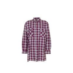 Planam Hemden Herren Flanellhemd 2001 rot Modell 0451