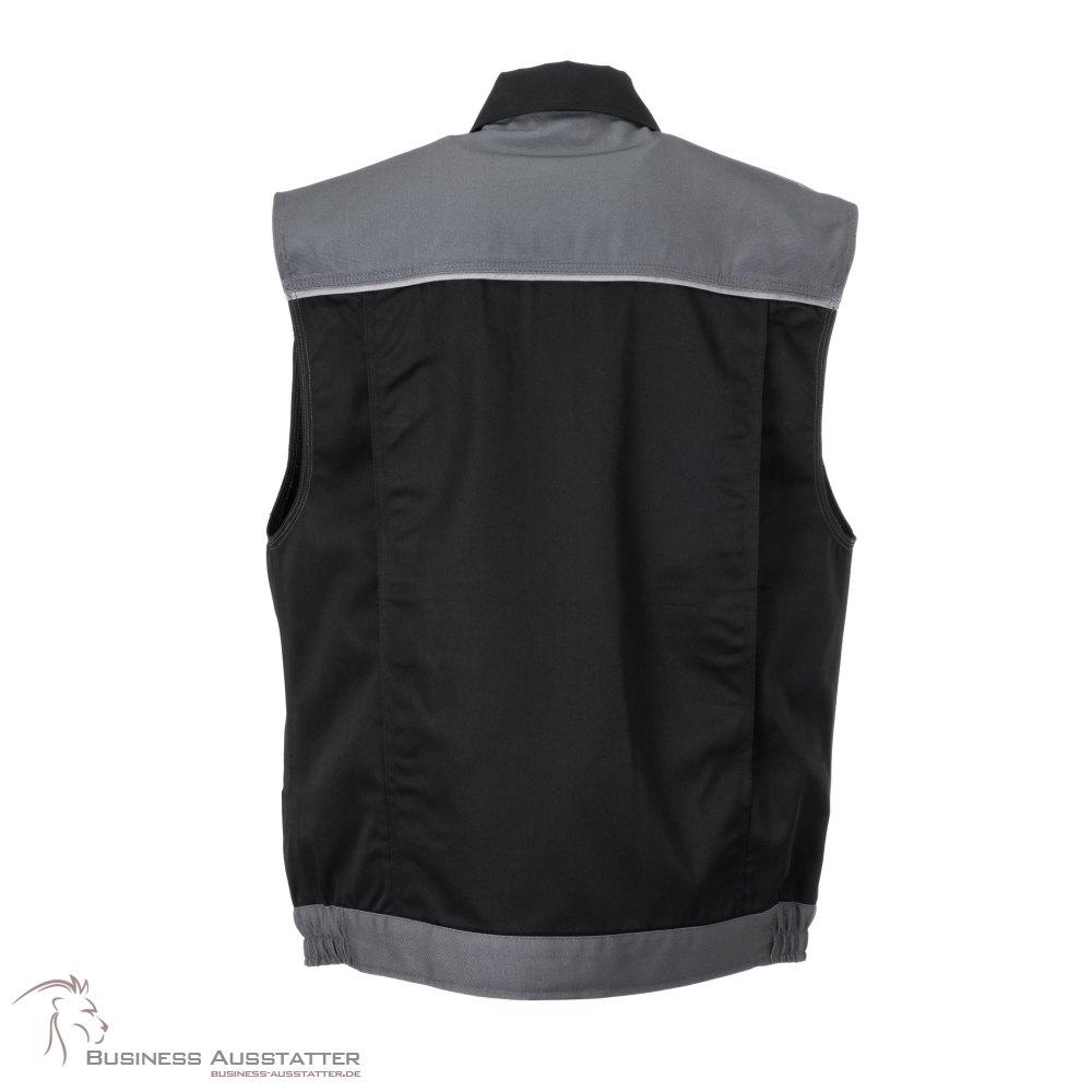 Planam Highline Herren Shorts schwarz schiefer zink Modell 2714