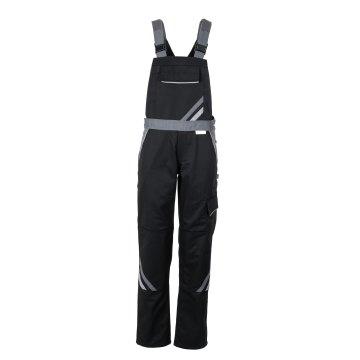 Planam Highline Damen Latzhose schwarz schiefer zink Modell 2719