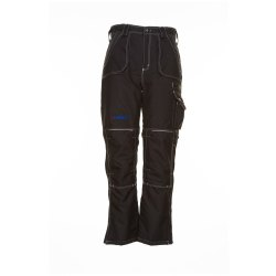 Planam Outdoor Winter Herren Basalt Winterhose schwarz...