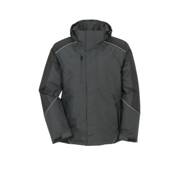 Planam Outdoor Winter Herren Desert Jacke grau schwarz Modell 3325