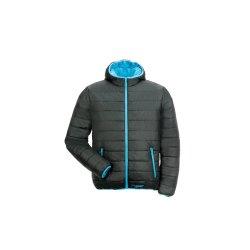 Planam Outdoor Winter Herren Lizard Jacke schwarz blau...