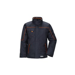 Planam Outdoor Winter Herren Piper Jacke marine orange...