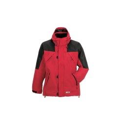Planam Outdoor Winter Herren Redwood Jacke rot schwarz...