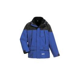 Planam Outdoor Herren Twister Jacke blau schwarz Modell 3130