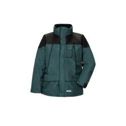 Planam Outdoor Herren Twister Jacke grün schwarz...