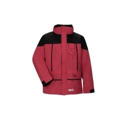Planam Outdoor Herren Twister Jacke rot schwarz Modell 3132