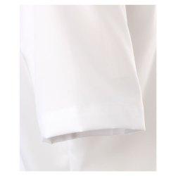Größe 41 Casamoda Hemd Weiss Uni Kurzarm Comfort Fit Normal Geschnitten Kentkragen 100% Baumwolle Bügelfrei