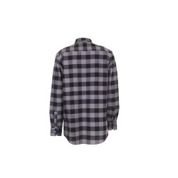 Größe 45/46 Herren Planam Hemden Squarehemd schwarz zink Modell 0492