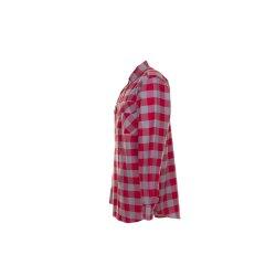 Größe 39/40 Herren Planam Hemden Squarehemd rot zink Modell 0493