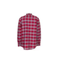 Größe 47/48 Herren Planam Hemden Squarehemd rot zink Modell 0493