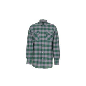 Größe 37/38 Herren Planam Hemden Squarehemd grün zink Modell 0494