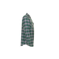Größe 43/44 Herren Planam Hemden Squarehemd grün zink Modell 0494