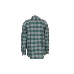 Größe 47/48 Herren Planam Hemden Squarehemd grün zink Modell 0494