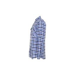 Größe 43/44 Herren Planam Hemden Countryhemd langarm blau kariert Modell 0480