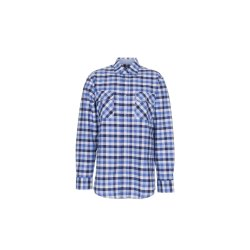 Größe 45/46 Herren Planam Hemden Countryhemd langarm blau kariert Modell 0480