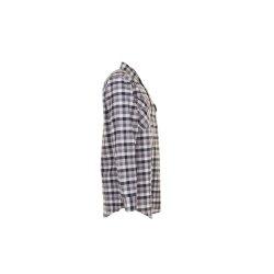 Größe 45/46 Herren Planam Hemden Countryhemd langarm schwarz kariert Modell 0481