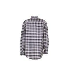 Größe 47/48 Herren Planam Hemden Countryhemd langarm schwarz kariert Modell 0481