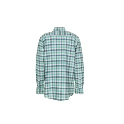Größe 37/38 Herren Planam Hemden Countryhemd langarm grün kariert Modell 0482