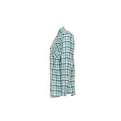 Größe 49/50 Herren Planam Hemden Countryhemd langarm grün kariert Modell 0482
